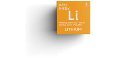 Lithium, element
